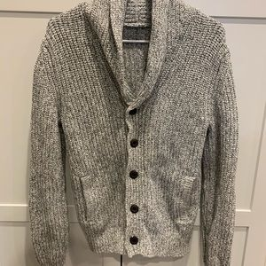 Express men's button up sweater